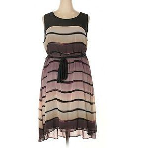 🔥➕Lane Bryant 💜 Stripe Dress
